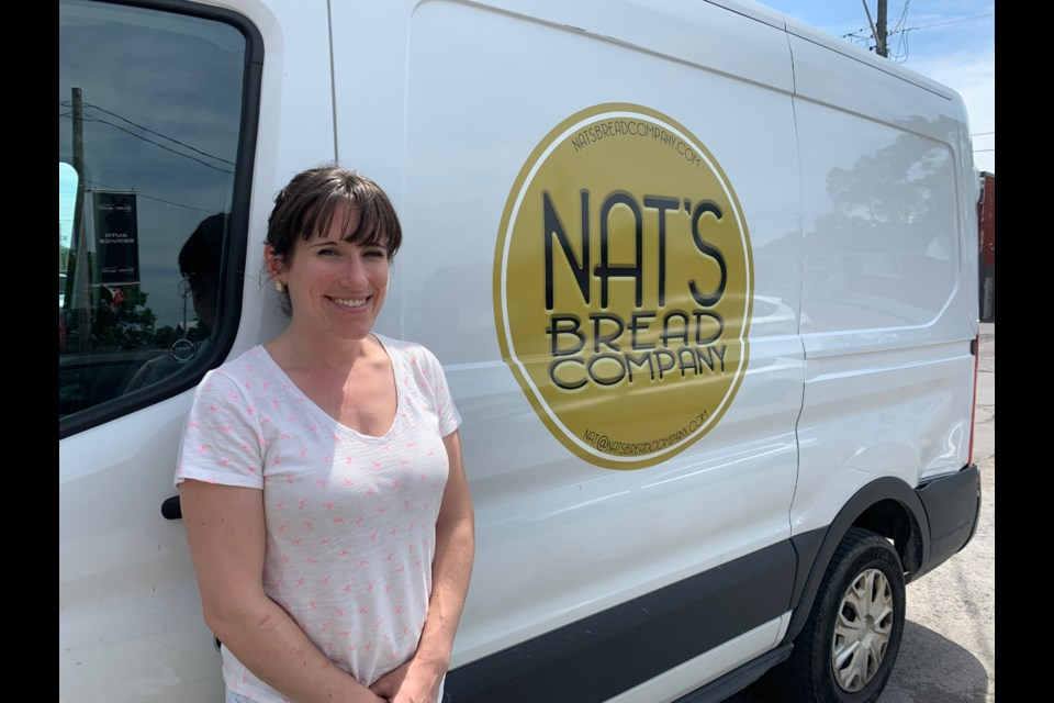 Natali Harea, owner of Nat's Bread Company. (Andrew Pinsent/OttawaMatters.com)