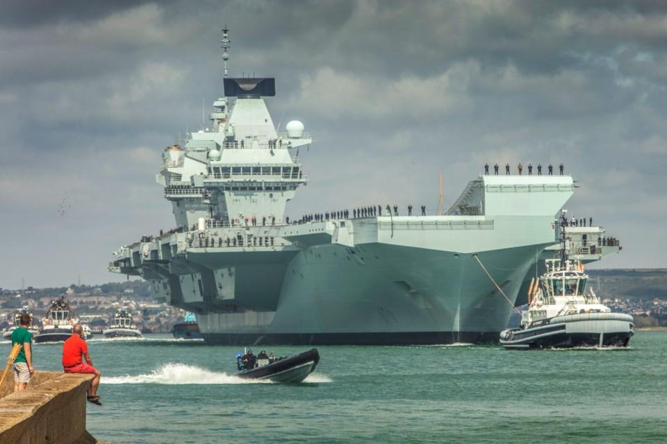 091219-HMS Queen Elizabeth
