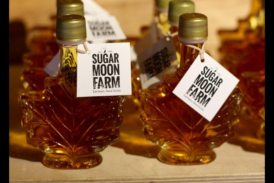 Maple syrup at Sugar Moon Farm (Photo: Katie Hartai/HalifaxToday).