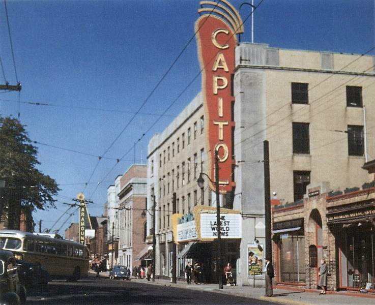 Image 1 - Capitol Theatre, 1949, Cynthia Henry