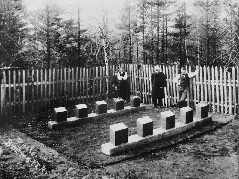 Image 1 - Baron de Hirsch Cemetery, 1912, Maritime Museum of the Atlantic