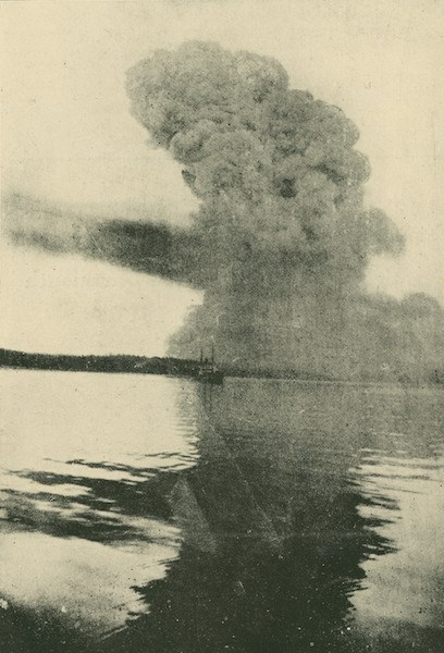 Image 1 - Blast cloud viewed from Bedford Basin, C. W. Vernon