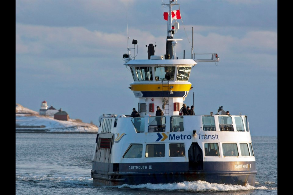 The Dartmouth III ferry seen crossing Halifax Harbour in 2016. This ferry is now in Ontario. THE CANADIAN PRESS/Andrew Vaughan