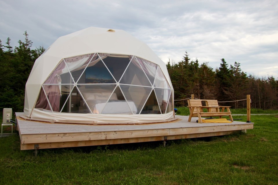 Archer's Edge Luxury Camping (Photo: Katie Hartai/HalifaxToday.ca).