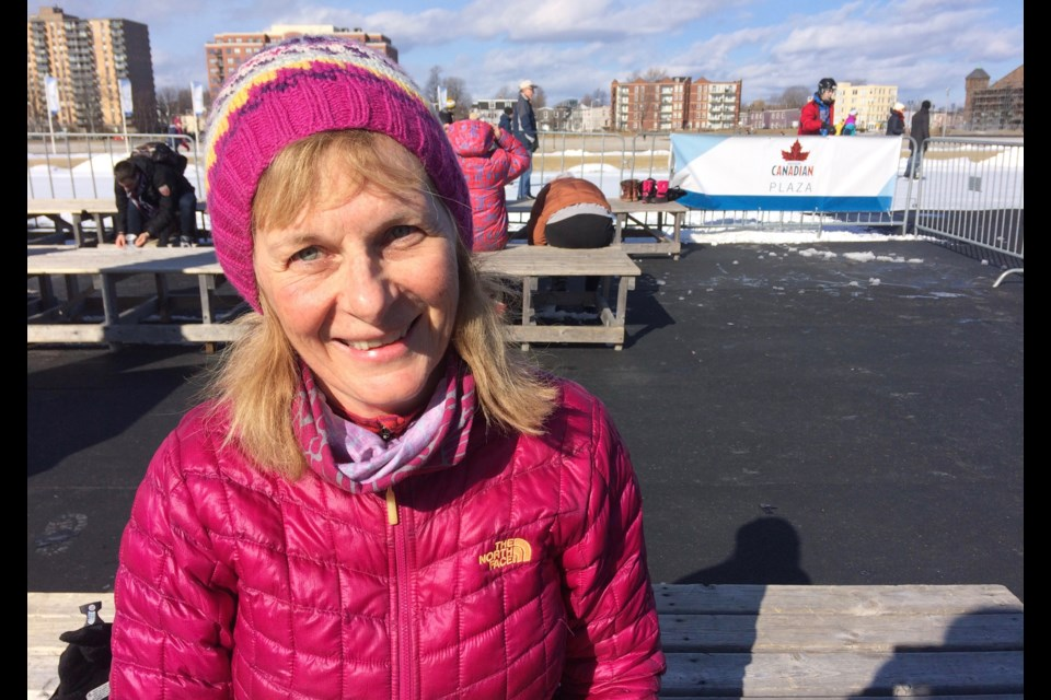 """""""Skiing, downhill skiing and ski jumping, any type of skiing, it's my favourite sport."""" Betty Hutchings. (Nicole Bayes-Fleming for HalifaxToday.ca)"""