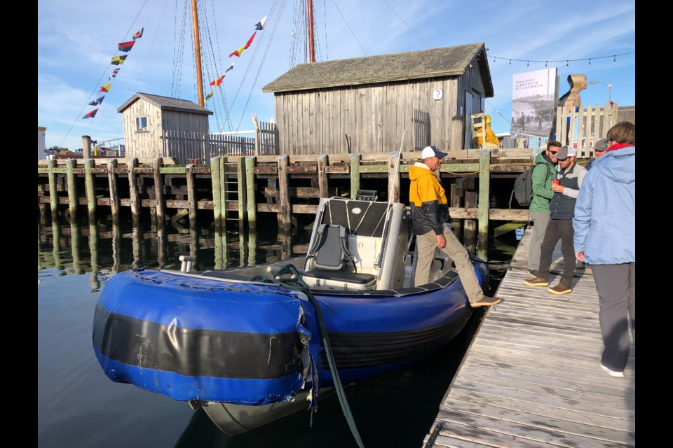 Our ride out to MV OCEARCH (Meghan Groff/HalifaxToday.ca)