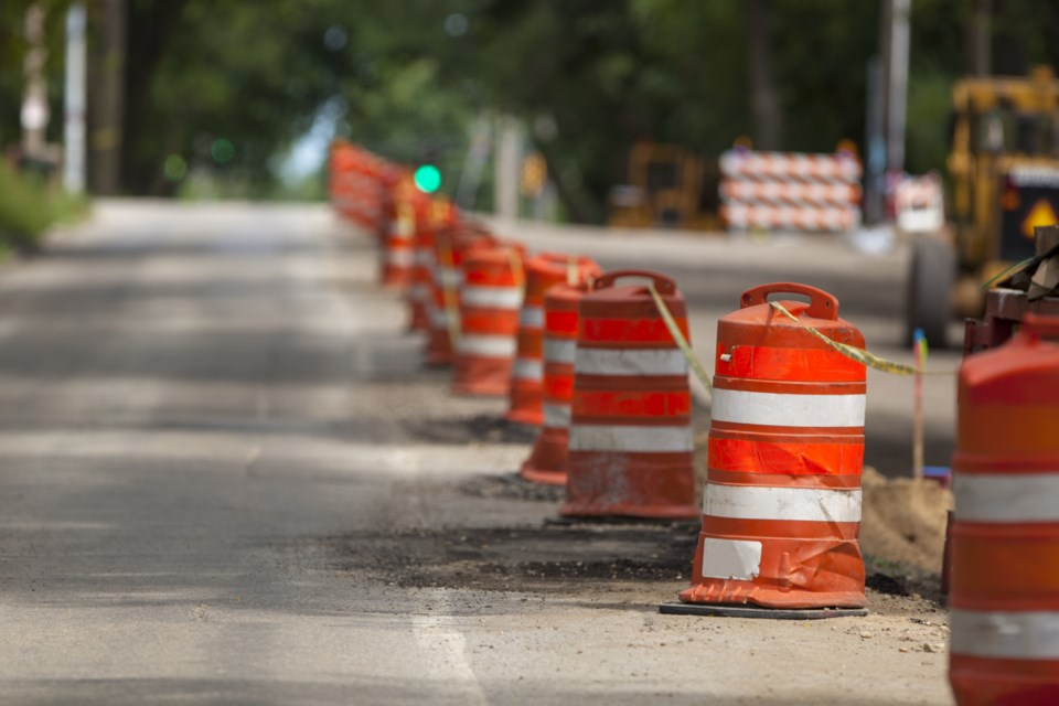 070319-pylon-construction zone-road work-paving-AdobeStock_109909358