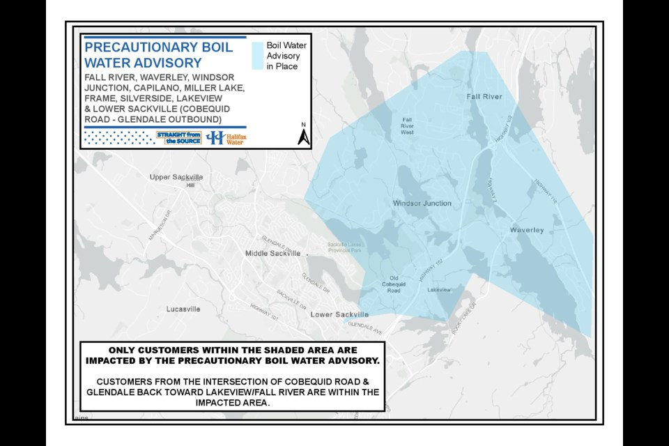 (Map courtesy of Halifax Water)