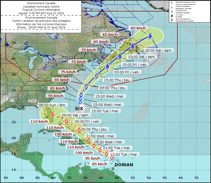 Tropical Cyclone Information Statement Issued For Nova Scotia Halifaxtoday Ca