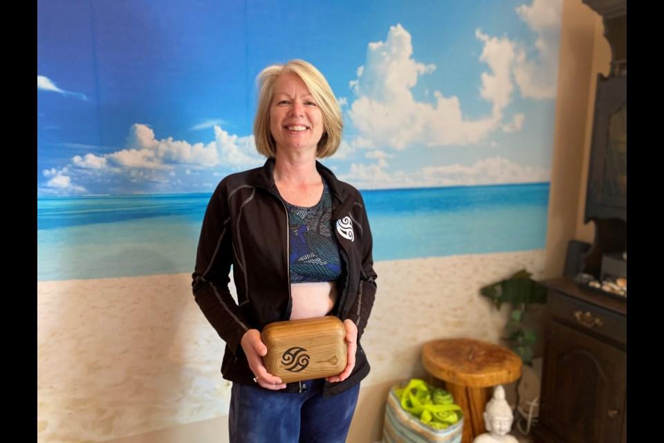 Victoria Goodman is the only certified Block Instructor in Ontario. Natasha Philpott/InnisfilToday