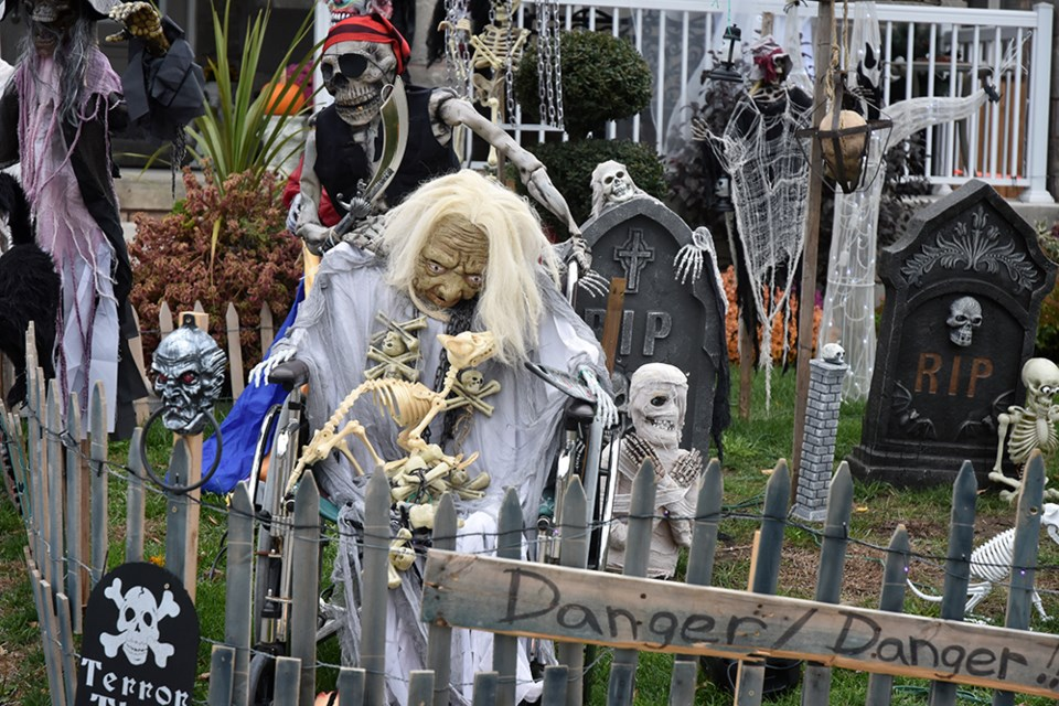 Some residents have gone all out for Halloween. Find out more on the Innisfil Community Halloween facebook page. Miriam King for Innisfil Today