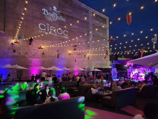 'Taco Alley' is a new, fun outdoor venue brought to patrons in part by owners of 'Alley' (Barrie's downtown nightclub) and Donaleigh's Pub which services the food at Taco Alley. The space is home to many outdoor live entertainment.