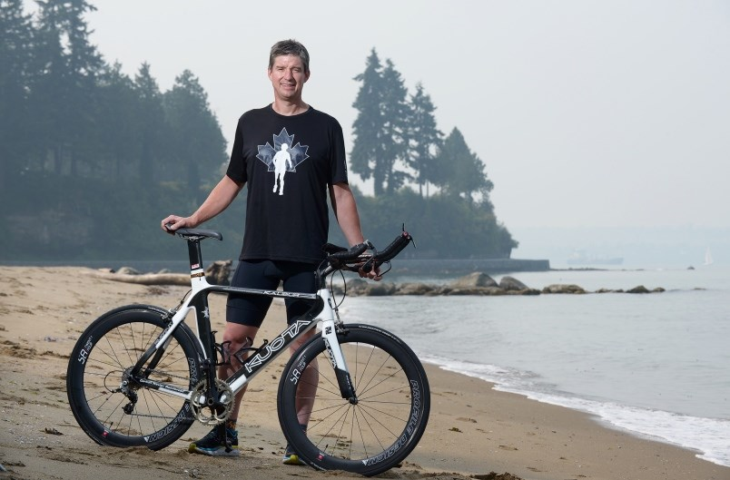 chad-bentley-45-is-one-of-seven-participants-from-around-the-world-aiming-to-complete-a-triathlon