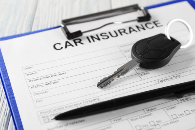 auto insurance papers