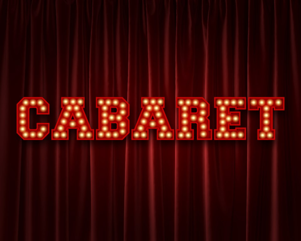 cabaret sign