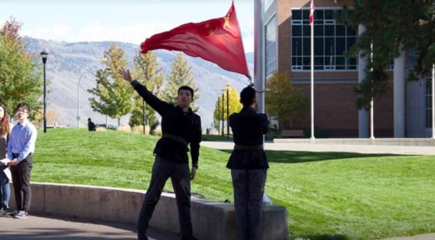 china-flag-raising
