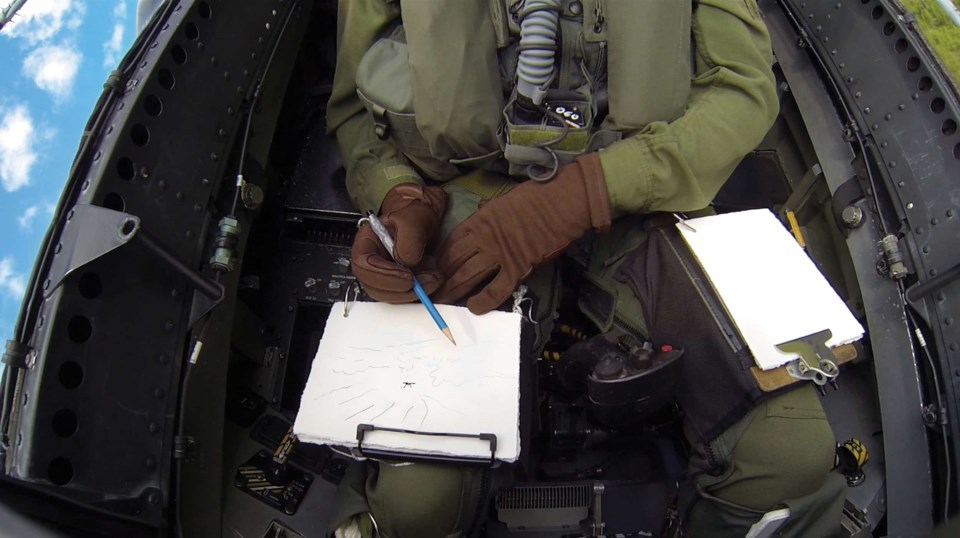 drawing-fighter-plane