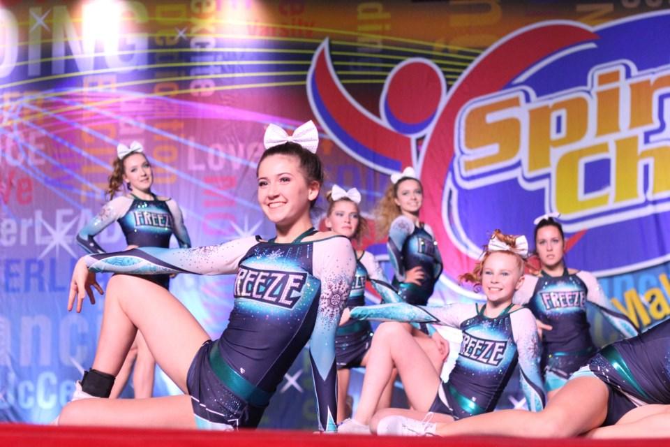 Freeze Cheerleading