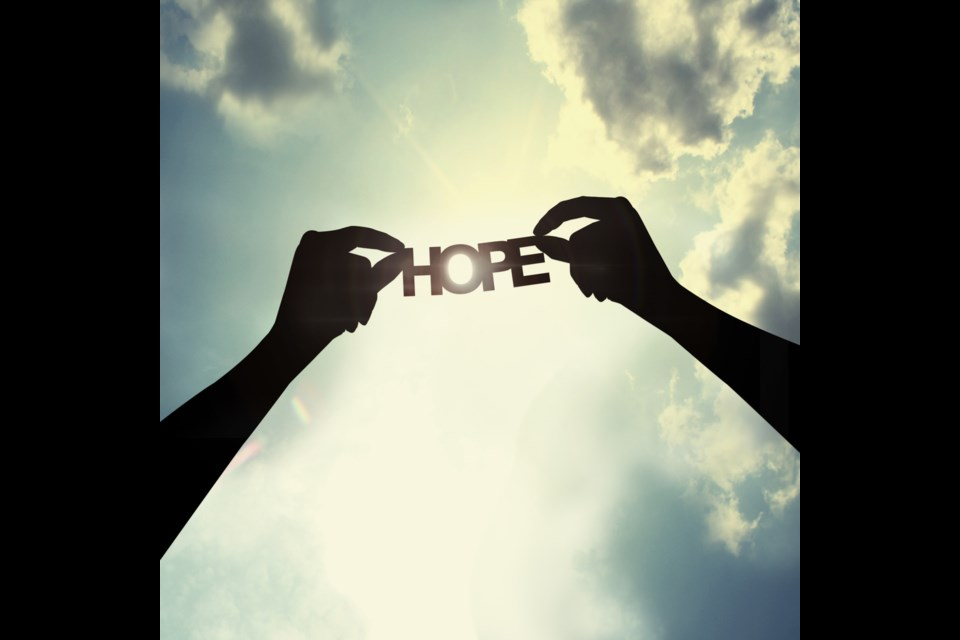 Hope. (via Shutterstock)