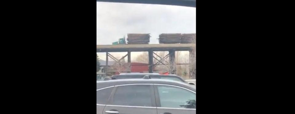 Illegal truck