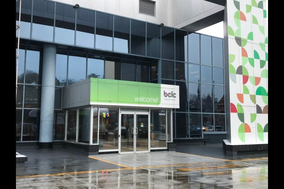 The Kamloops BCLC headquarters. (via Brendan Kergin)