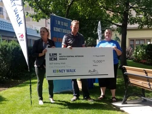 Kidney-walk-donation