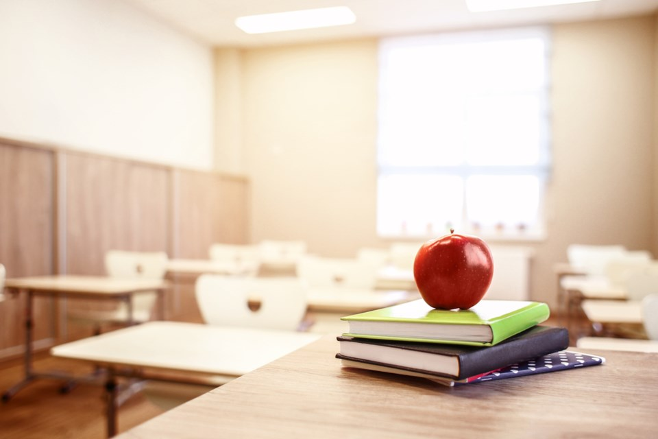 teacher's classroom