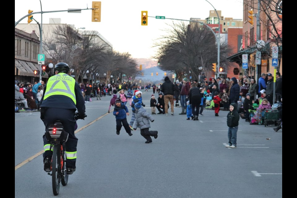 There was plenty of pre-parade energy. (via Brendan Kergin)