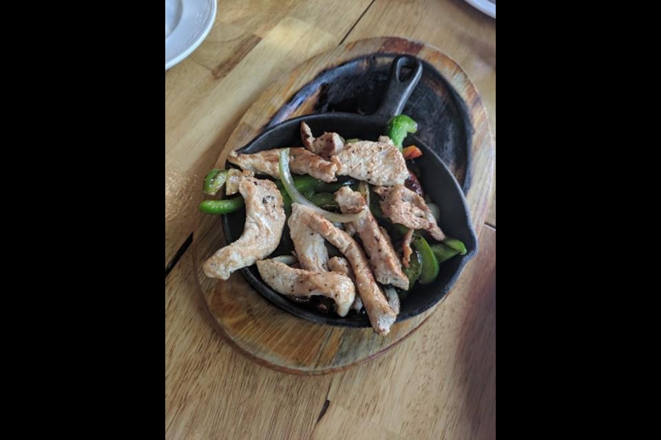 Mmm, chicken fajitas. (via Courtney Dickson)