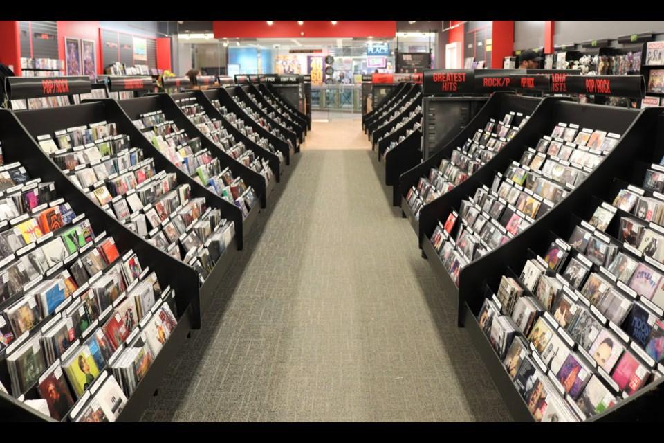 Sunrise Records in Aberdeen Mall. (via Brendan Kergin)