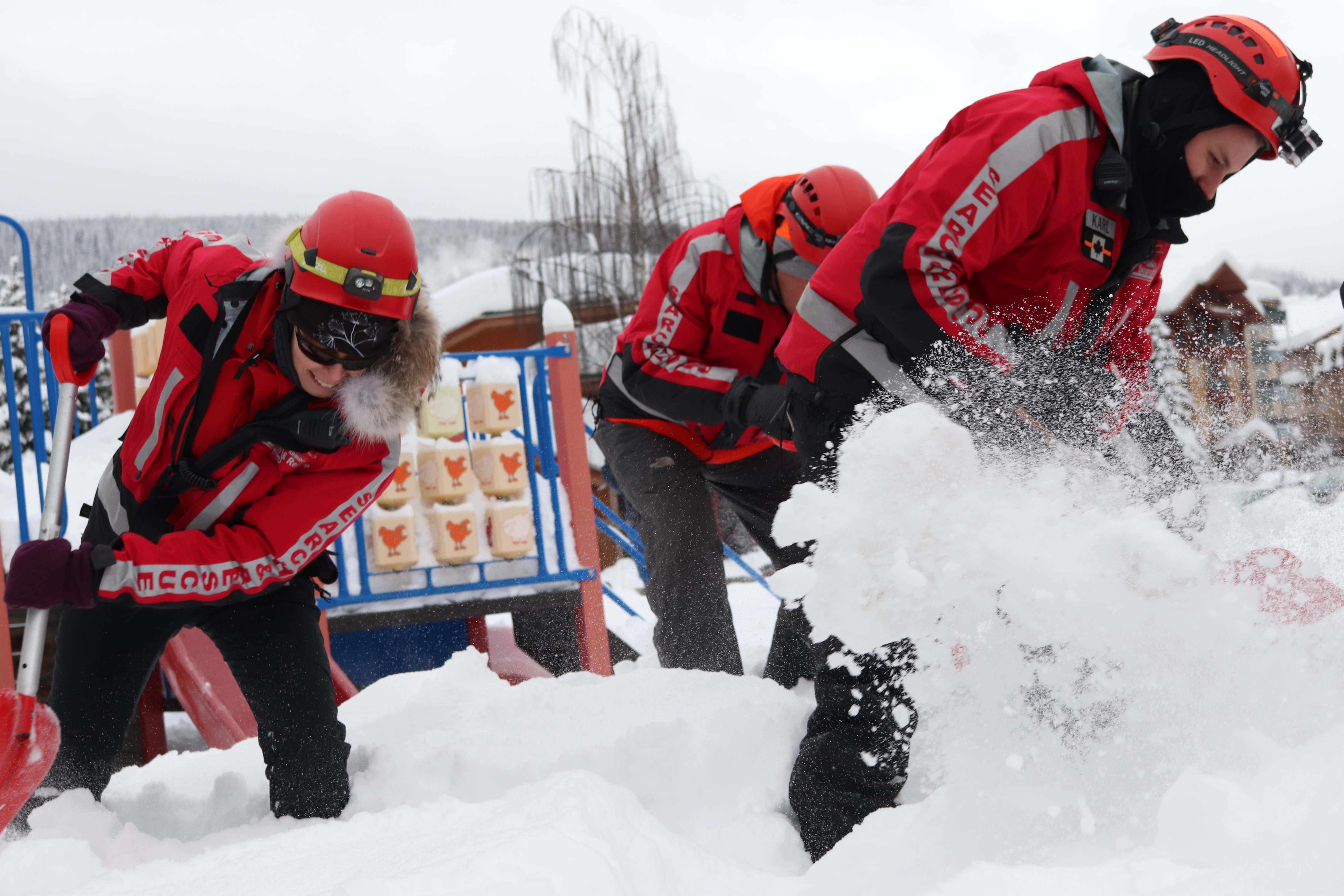 PHOTOS: See how Kamloops Search and Rescue deals with avalanches