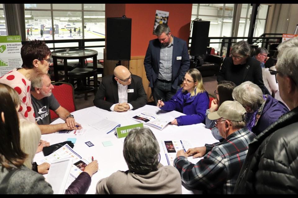 Budget and planning manager David Hallinan talking to a group. (via Brendan Kergin)