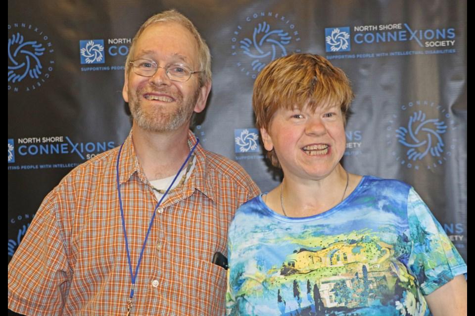 Mark Kilian and Lynn McGuire.