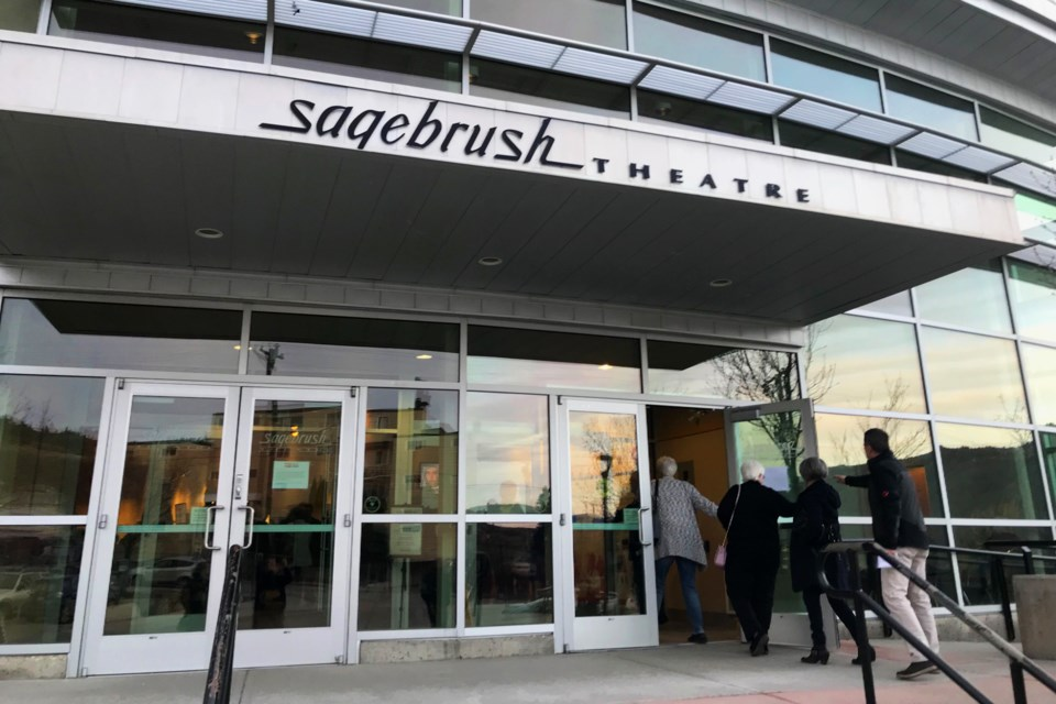sagebrush entrance