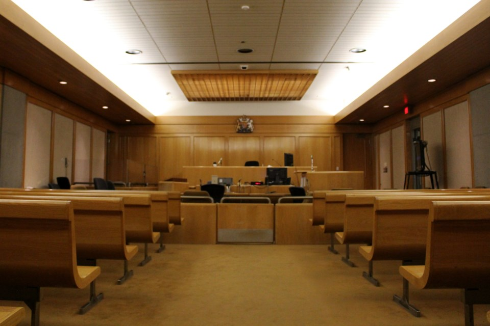Courtroom Wide (shallow depth)