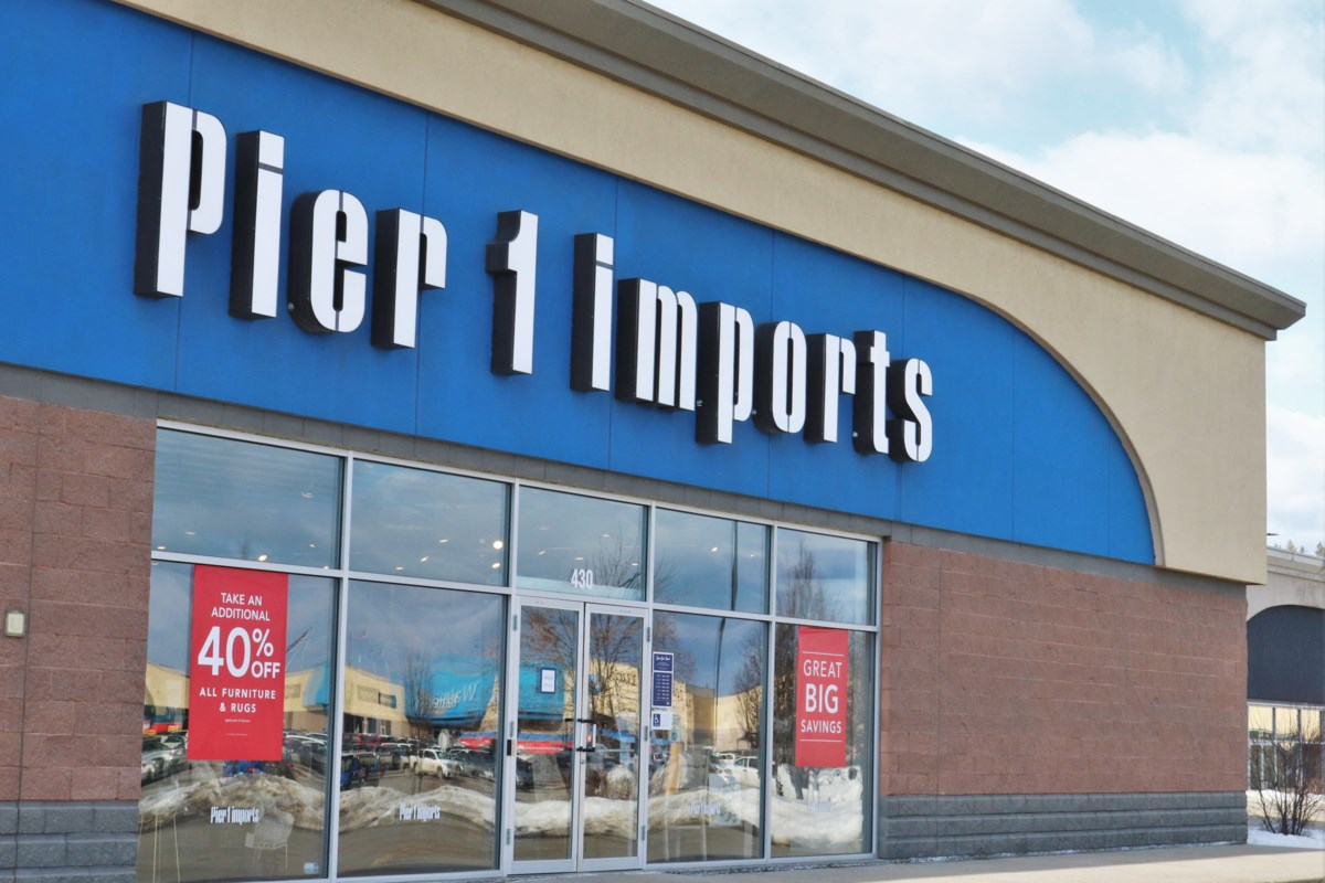 Pier 1 shutting down all Canadian locations, including Kamloops
