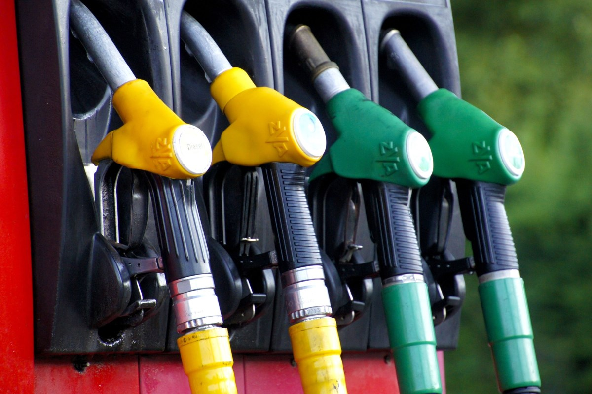 Expect to pay 121.9 at the pumps in Sudbury today
