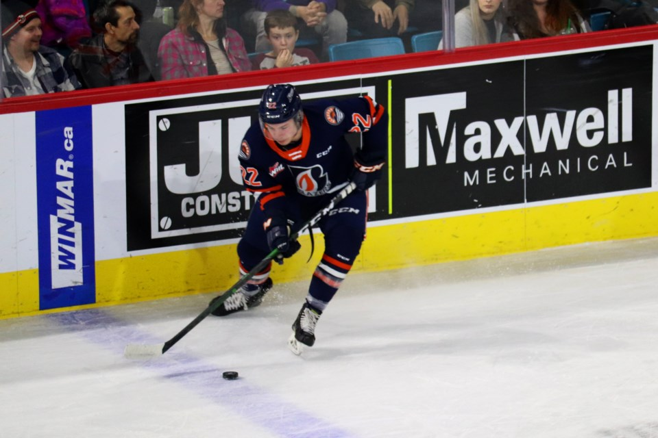 Martin Lang was traded to the Moose Jaw Warriors this afternoon (Jan. 9). (via Eric Thompson)