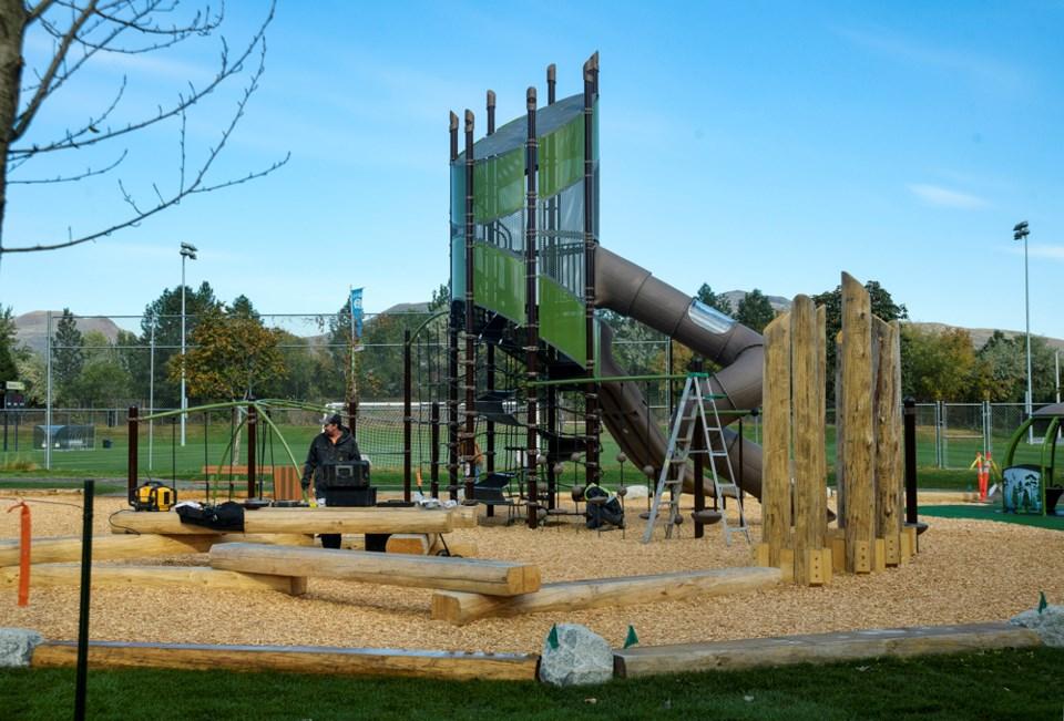McArthur Island new playground