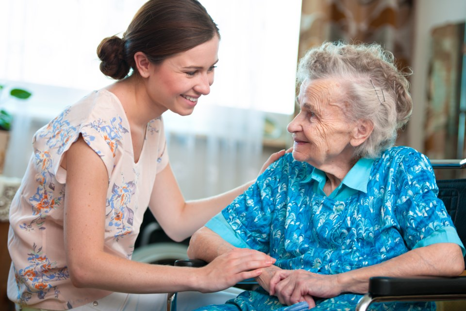Family Caregiver with gramma