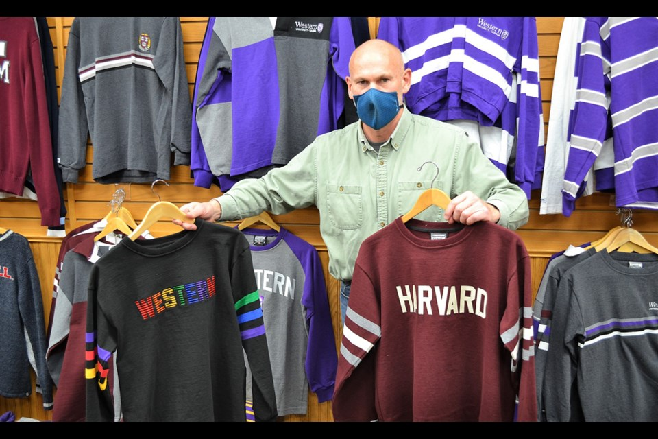 Barbarian Sports Wear's owner, Steve Wagner. Photo by Ian Hunter