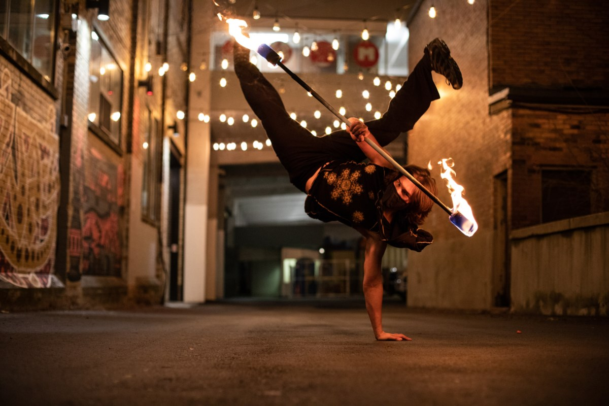 Meet Dragon Breath Entertainment: the Kitchener performers who play with fire
