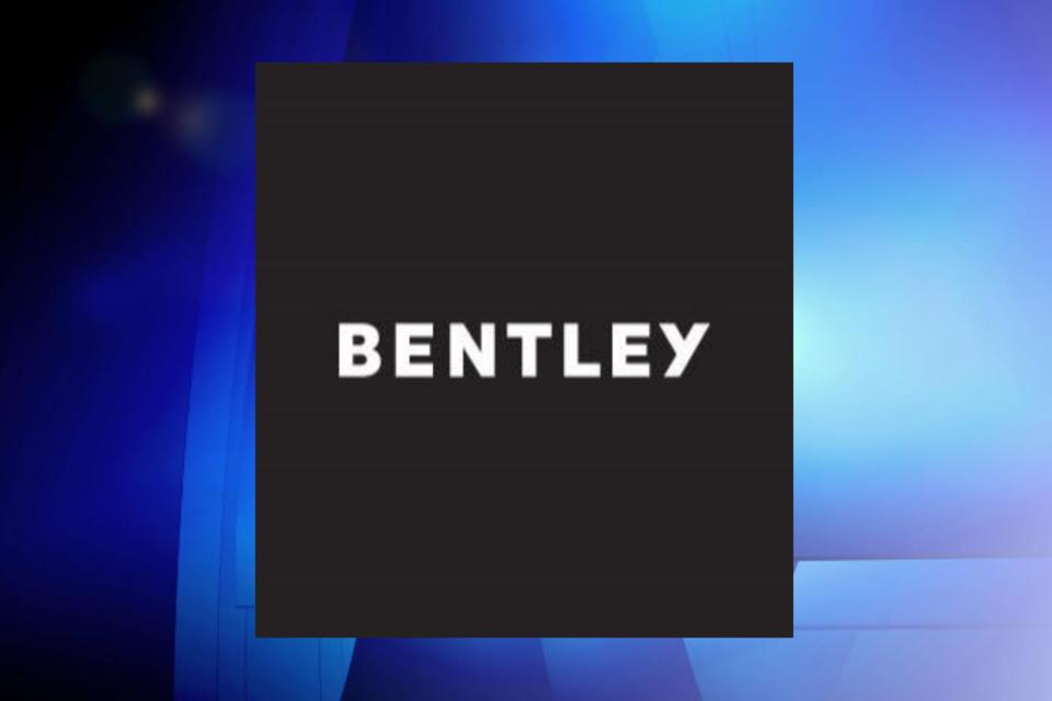 Bentley luggage logo