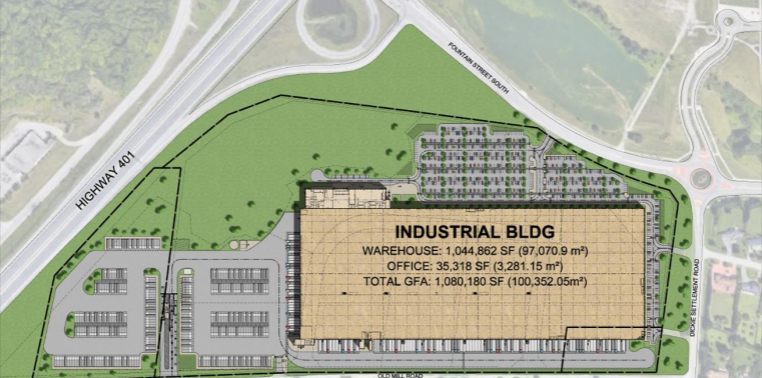 massive warehouse blair
