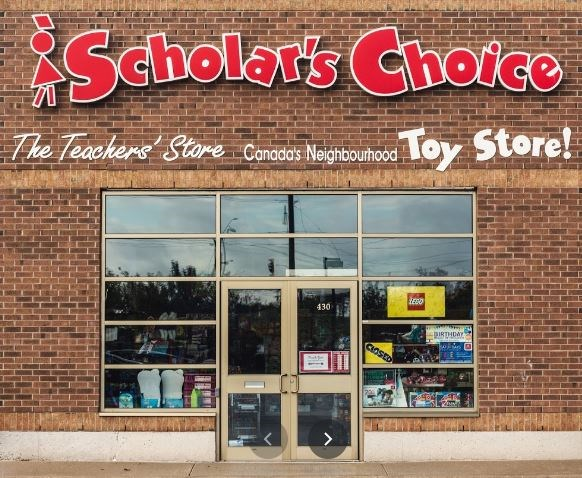 Scholar's Choice storefront