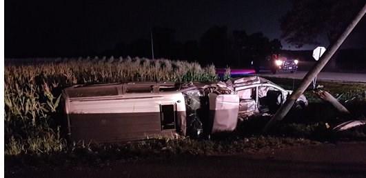 Fatal near Stratford August 28, 2018