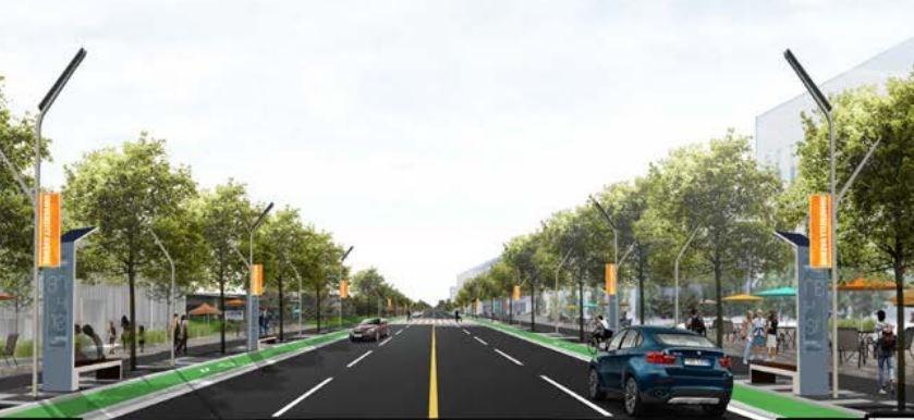 University Avenue Gateway Strategy/Focus Area 2: Conestoga College Vision