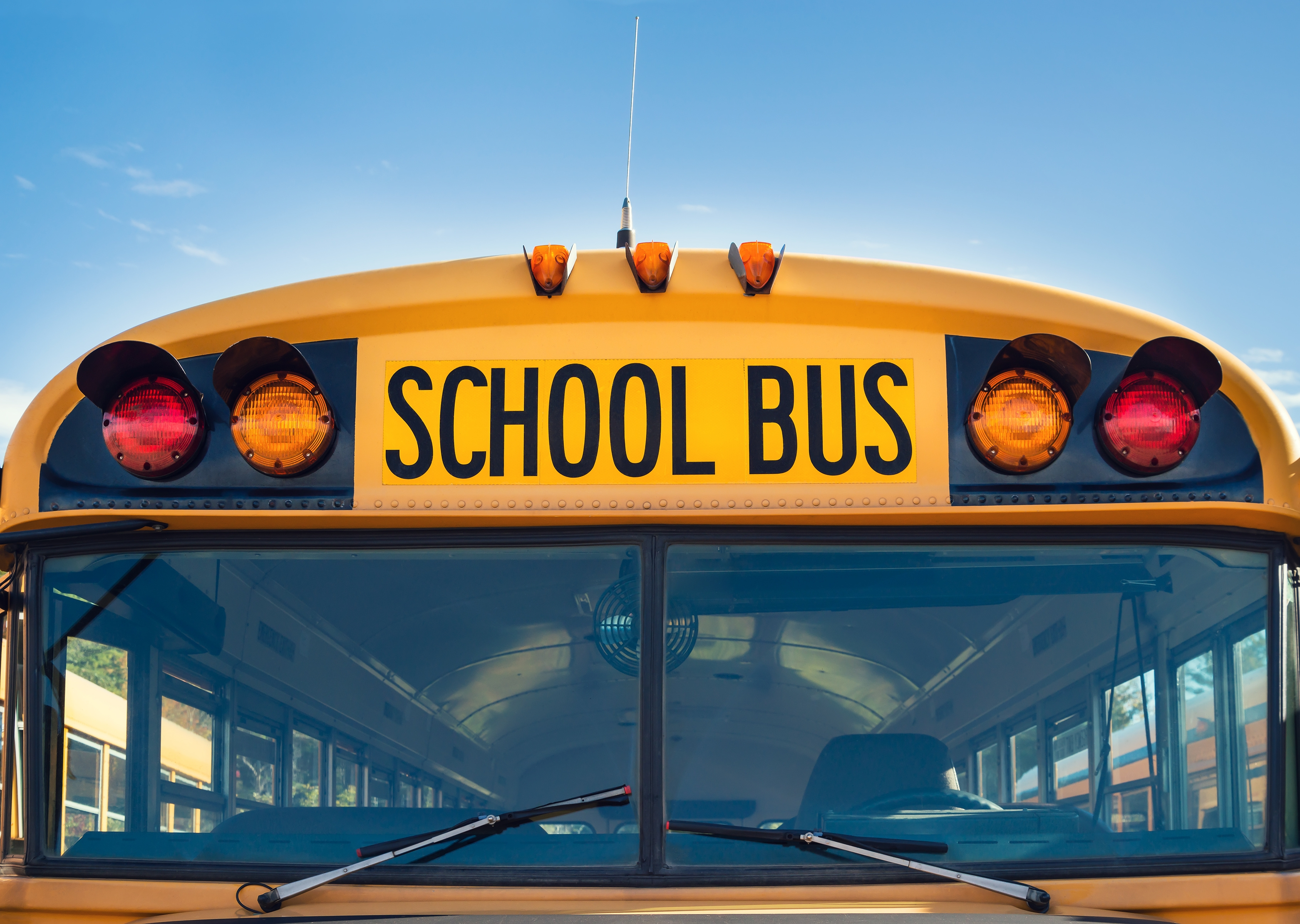 Charges pending after man hit by school bus