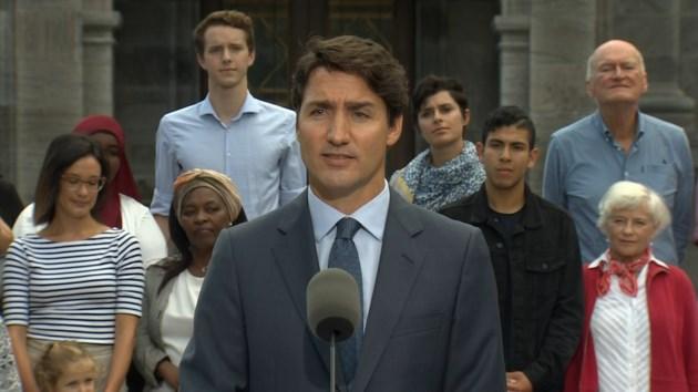 Trudeau election call 2019