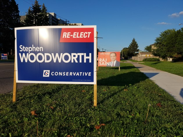 Woodworth 2019 sign